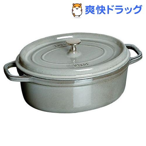 ストウブ ピコ・ココット オーバル 15cm グレー40509-477(1コ入)【ストウブ】