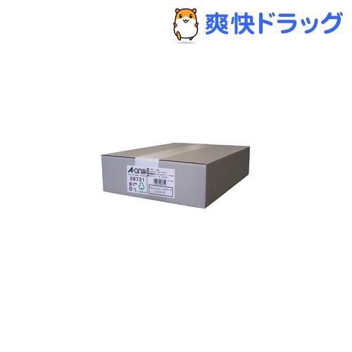 エーワン パソコンプリンタ&ワープロラベルシール(プリンタ兼用) 12面 28731(500シート)
