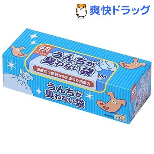 防臭袋BOS / うんちが臭わない袋BOS(ボス) ペット用 SSサイズ うんちが臭わない袋BOS(ボス) ペット用 SSサイズ(200枚入)【防臭袋BOS】