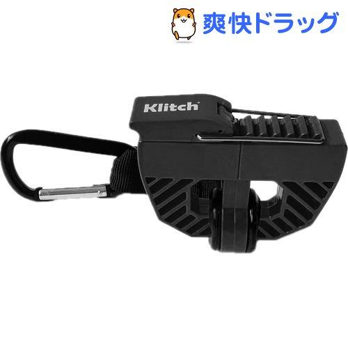クリッチ Klitch シューズクリップ カラビナ付 KLITCH ブラック BK SPORTS 超人気 専門店 KLSPT 高品質 1個