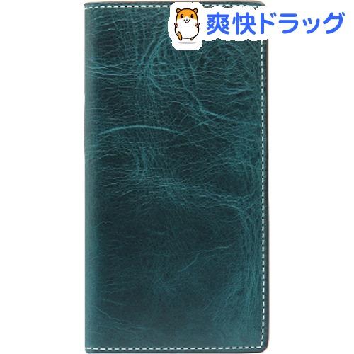 エスエルジーデザイン iPhone X バダラッシーワックスケース グリーン SD10520i8(1コ入)【SLG Design(エスエルジーデザイン)】