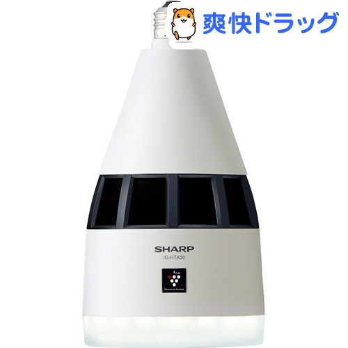 シャープ プラズマクラスターイオン発生機 天井設置タイプ LEDプラス IG-HTA30-W(1台)【シャープ】