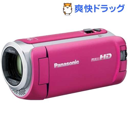 パナソニック デジタルハイビジョンビデオカメラ HC-W590M-P ピンク(1台)【パナソニック】