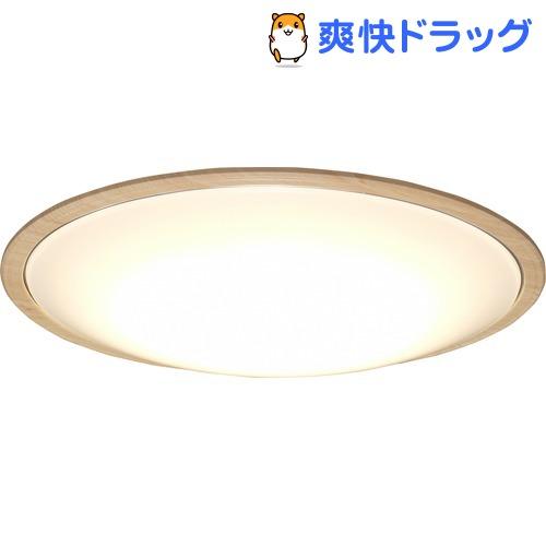 アイリスオーヤマ LEDシーリングライト ウッドフレーム 14畳調色 ナチュラル(1台)【アイリスオーヤマ】