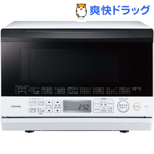 東芝 オーブンレンジ 石窯ドーム グランホワイト ER-T60(W)(1台)【東芝(TOSHIBA)】