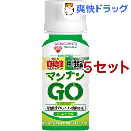 ※ラッピング ※ 蒟蒻畑 マンナンGO 白ぶどう味 6本入 50ml 直営ストア 5セット