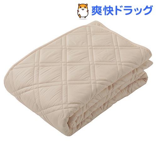 東京西川 ベッドパッド ベージュ ダブルサイズ CM26002004BE(1枚入)