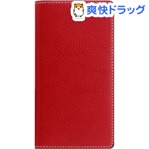 SLG iPhone XS MAX ミネルバボックスレザーケース レッド SD13724i65(1個)【SLG Design(エスエルジーデザイン)】