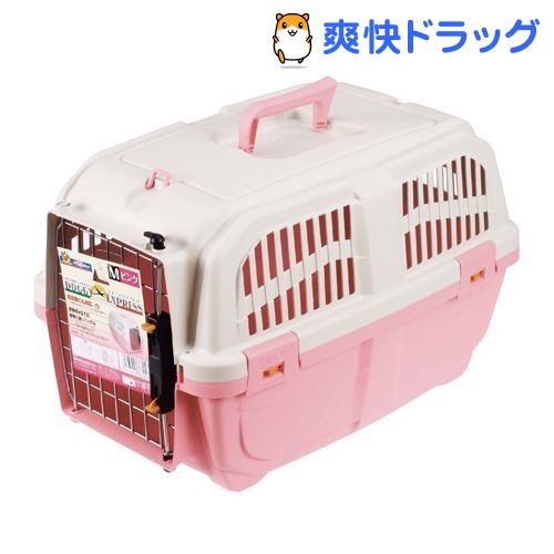 ドギーマン Doggy Man イタリア製ハードキャリー ドギー 購買 激安通販ショッピング エクスプレス ピンク 1コ入 Mサイズ