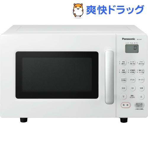 パナソニック 家庭用オーブンレンジ 16L NE-KA1-W ホワイト(1台)【パナソニック】