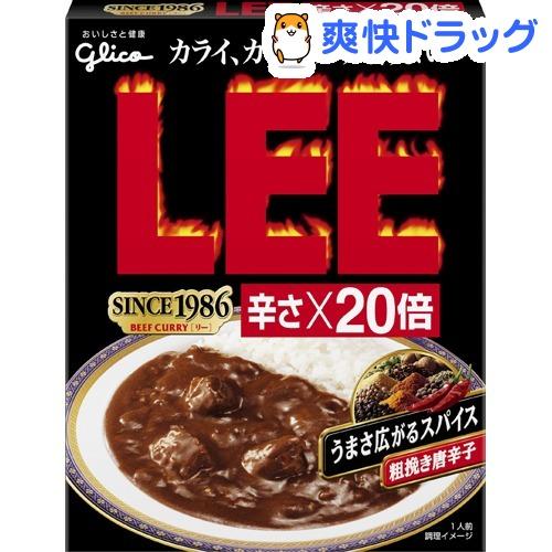 牛肉咖喱LEE蒸煮袋辣X20倍(200g)[咖喱汤汁]