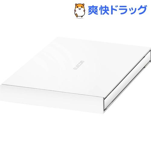 エレコム SSD 外付け ポータブル 500GB USB3.2 耐衝撃 ホワイト ESD-EJ0500GWH(1台)【エレコム(ELECOM)】