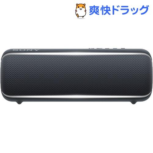 ソニー ワイヤレススピーカー ブラック SRS-XB22 BC(1個)【SONY(ソニー)】