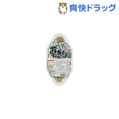国際ブランド 新着セール コジマフーズ 有機発芽玄米おにぎり わかめ 90g 2コ入