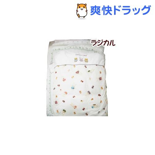 日本製 ラジカル ファンタジーミニ布団6点セット ベージュ(1セット)