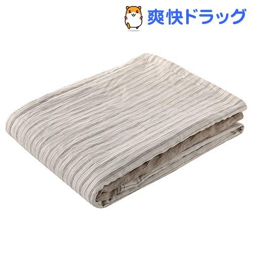 肌掛け布団 シングル 洗える 麻 速乾 吸湿 しなやか竹素材 ベージュ AE08502046BE(1枚入)【東京西川】