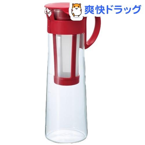 ハリオ HARIO 水出し珈琲ポット 1コ入 値引き レッド チープ MCPN-14R