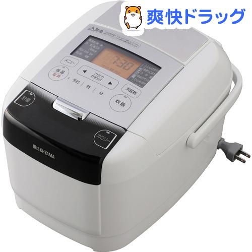 米屋の旨み 銘柄量り炊き IHジャー炊飯器 3合(分離なし) RC-IC30-W(1台)【アイリスオーヤマ】