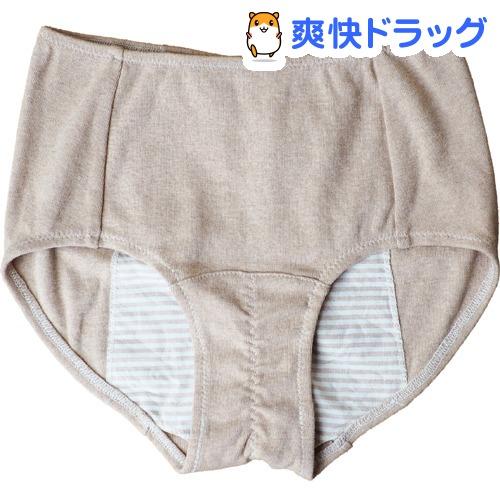 サニタリーショーツ Mサイズ 茶(1枚)【メイドインアース】