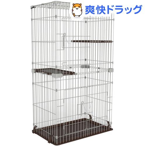 マルカン キャットフレンドルーム スリム 2段(1台)