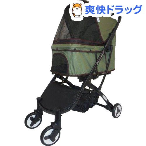 ピッコロカーネ ペットカート BENE モスグリーン(1台)【ピッコロカーネ】