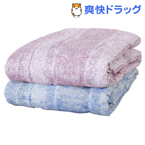 洗える羽毛肌掛布団 ダブル2色組(1セット)