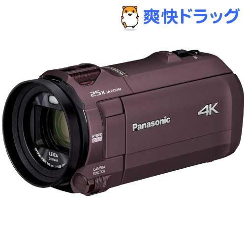 パナソニック デジタル4Kビデオカメラ HC-VX992M-T カカオブラウン(1台)【パナソニック】