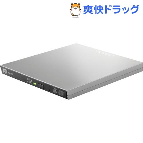 BLu-rayディスクドライブ USB3.0 スリム 再生&編集ソフト付 typeCコネクタ シルバー(1コ入)【エレコム(ELECOM)】