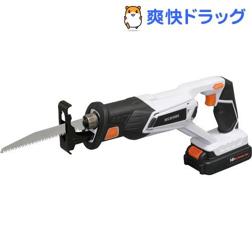アイリスオーヤマ 充電式レシプロソー18V ホワイト JRS20(1台)【アイリスオーヤマ】
