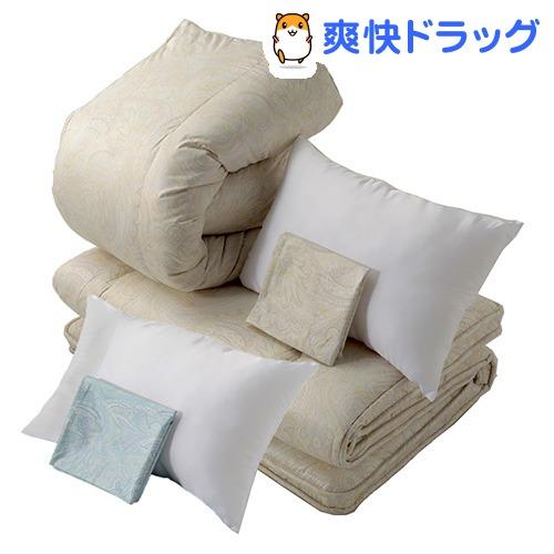 東京西川 布団6点セット ダブルサイズ KF27000004BE(1セット)