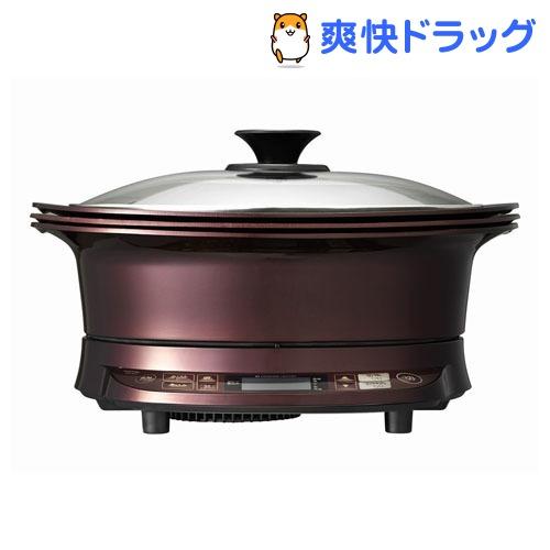コイズミ IHグリルなべ レッド KIH-1411/R(1台)【コイズミ】