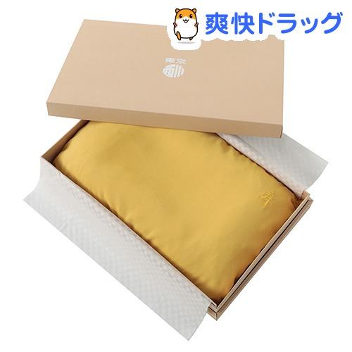 東京西川 お祝い 枕 米寿 傘寿 長寿 ギフトボックス入り 日本製 金 55*35cm(1コ入)【東京西川】