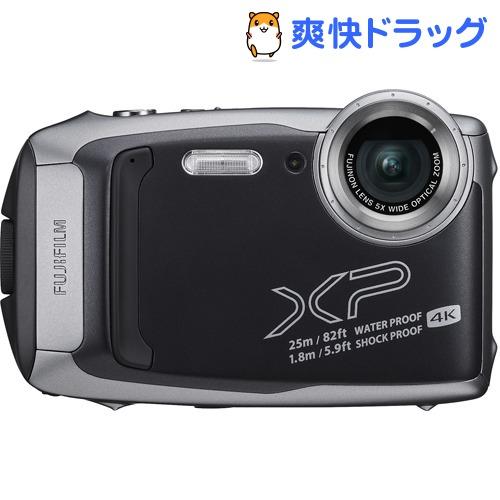 富士フイルム デジタルカメラ FinePix XP140DS ダークシルバー(1台)【ファインピックス(FinePix)】