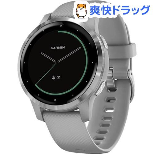 GARMIN GPSスマートウォッチ vivoactive4S PowderGray*Silver 0100217207 日本正規品(1個)【GARMIN(ガーミン)】