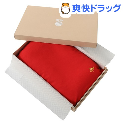 東京西川 お祝い 枕 還暦 長寿 ギフトボックス入り 日本製 赤 55*35cm EH88102036R(1コ入)【東京西川】