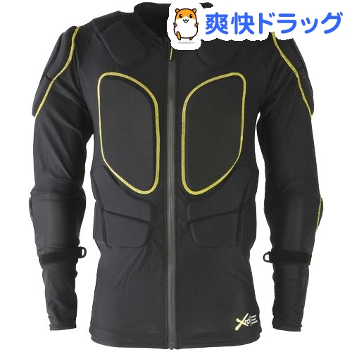 鎧武者 ボディプロテクター ユニセックス YM-1745 BK M(1枚)【鎧武者】
