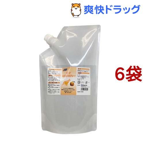 サイペット ゆずセラミドスプレー 詰替用(1L*6袋セット)【CYPET(サイペット)】