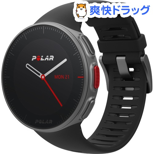ポラール GPSプロマルチスポーツウォッチ VANTAGE V HR ブラック(心拍センサー付き)(1個)【POLAR(ポラール)】