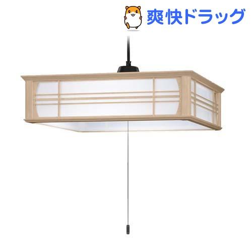 LED和風木枠ペンダントライト~8畳 LEP-CA800EJ(1台)