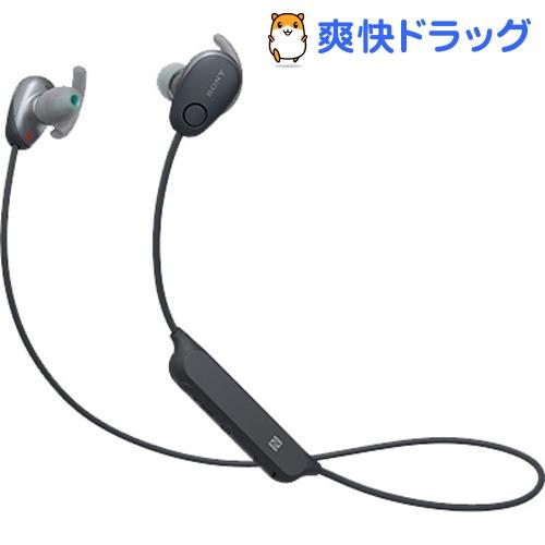 ソニー ワイヤレスノイズキャンセリングステレオヘッドセット WI-SP600N BM(1コ)【SONY(ソニー)】