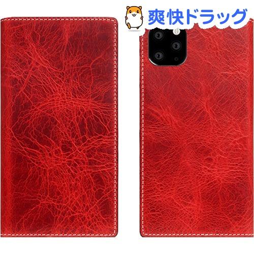 SLG Design iPhone 11 Pro Max Badalassi Wax case レッド SD17944i65R(1個)【SLG Design(エスエルジーデザイン)】