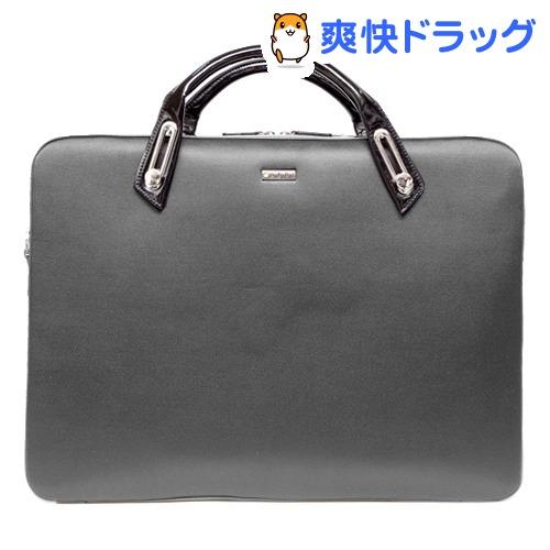 アビィ ミッシェル サテンブリーフケース Lサイズ グレー B6306GY(1コ入)【アビィ】
