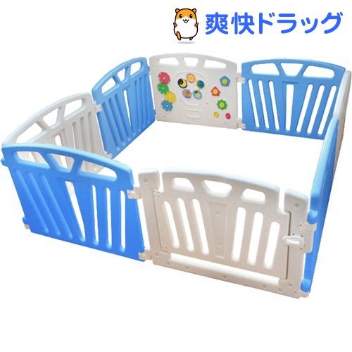 パステルカラーサークル 8枚パネルセット ブルー(1コ入)