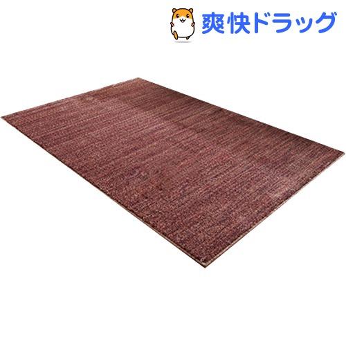 イケヒコ イリゼ ラグマット 190*190cm ワイン 抗菌 防ダニ 防臭 日本製(1枚入)