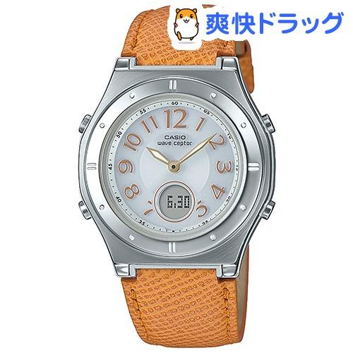カシオ 婦人用電波ソーラー時計 イエロー系 LWA-M141L-4A4JF(1コ入)