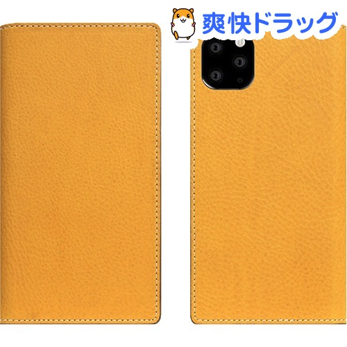 SLG Design iPhone 11 Pro Max Minerva Box Leather Case タン SD17946i65R(1個)【SLG Design(エスエルジーデザイン)】