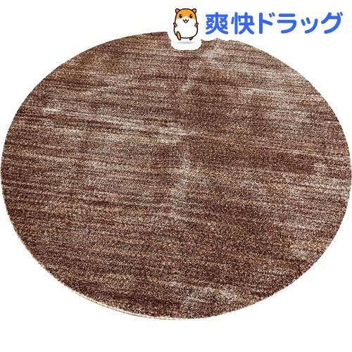 イケヒコ イリゼ ラグマット 180cm 丸 ワイン 抗菌 防ダニ 防臭 日本製(1枚入)