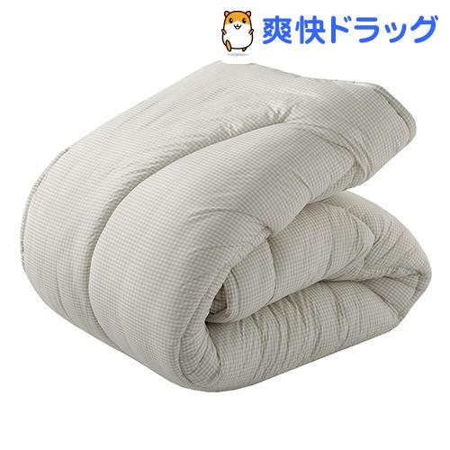 掛け布団 シングル アレルギー対策 防ダニ ホコリを通さない ベージュ AB08250005BE(1枚入)【東京西川】