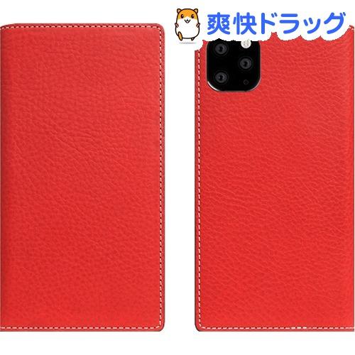 SLG Design iPhone 11 Pro Max Minerva Box Leather Case レッド SD17948i65R(1個)【SLG Design(エスエルジーデザイン)】