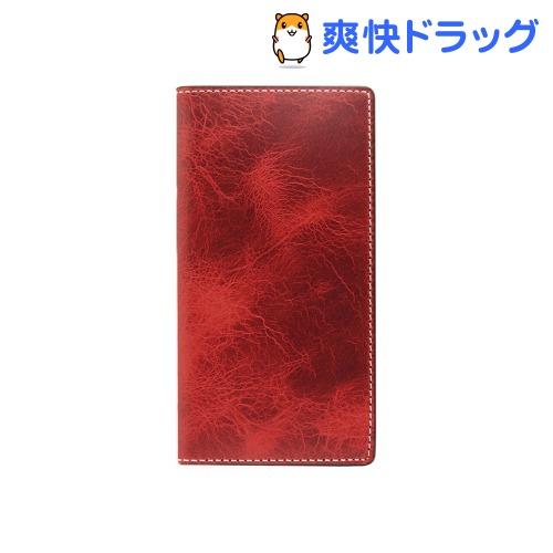 エスエルジーデザイン iPhone7 PLus バダラッシーワックスケース レッド SD8149i7P(1コ入)【SLG Design(エスエルジーデザイン)】